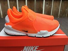 Nike Sock Dart 'Hasta' Size 10 Uk Men's Trainers Total Crimson 833124 800