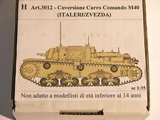 1/35  Conversion for Carro Comando M40  interior set, (like NEW in origin Box)