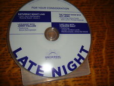 NBC EMMY DVD LATE NIGHT Show Bruce Springsteen STEVE CARELL, JANE LYNCH JESSIE J