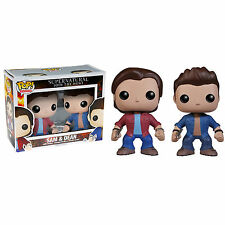 SET FIGURE SUPERNATURAL POP FUNKO SAM SAMUEL WINCHESTER DEAN 2-PACK SERIE TV #1