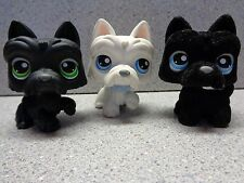 ❤️ Littlest Pet Shop Lot ❤️SCOTTIE Dog Triplets  ��