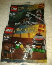 2x Lego Lord Of The Rings Polybags  30210 30211  New Sealed