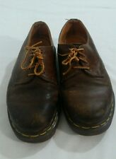 """Doc Marten brown oxfords made in England 10"""" heel to toe"""