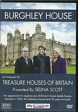 BURGHLEY HOUSE DVD TREASURE HOUSES OF BRITAIN PRESENTED BY SELINA SCOTT