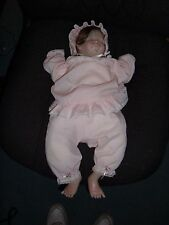 """Lee Middleton """"First Moments"""" Baby Doll, Signed by Lee Middleton 1983"""