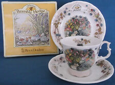 Royal Doulton Brambly Hedge Autunno Tazza Piattino Tè PIASTRA Trio Jill Barklem