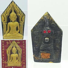 Thai amulet Phra Khun Paen back with Phra Ngang Red eye holy leklai Super Lucky