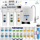 5 STAGE 50 GPD Water Filter System Reverse Osmosis Filtration Drinking Home