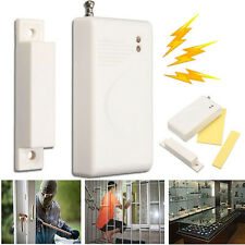 315MHz Wireless Door Window Cabinet Entry Security Magnetic Switch Sensor Alarm