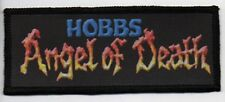 HOBBS ANGEL OF DEATH PATCH / SPEED-THRASH-BLACK-DEATH METAL