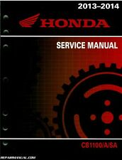 2013 – 2014 Honda CB1100 A Motorcycle Service Manual : 61MGC01