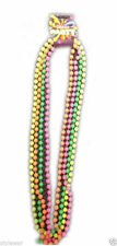 New 80's Fluorescent UV Fancy Dress Neon Beads Necklace Disco Hen Night Party