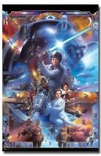 STAR WARS SAGA 30TH ANNIVERSARY 22x34 NEW POSTER FREE SHIP JEDI DARTH VADER