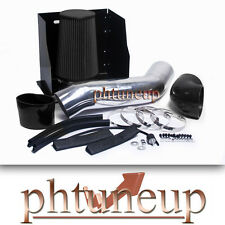 BLACK 2003-2007 HUMMER H2 6.0 6.0L HEATSHIELD COLD AIR INTAKE KIT SYSTEMS