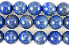 A+ 20mm lapis lazuli round beads 2pcs