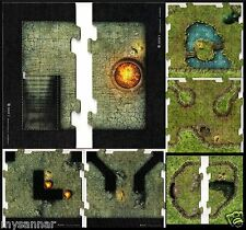 D&D DUNGEON COMMAND DROW TILE SET Dungeons & Dragons Pathfinder Miniatures