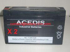 Batterie 6 Volt pour Onduleur  MGE Pulsar Evolution 500 Rack