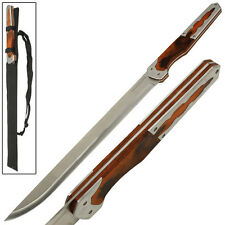 Full Tang Fixed Blade Raiden Cyborg Ninja HF Blade Machete Short Sword Knife