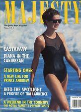 PRINCESS DIANA UK Majesty Magazine Vol 14 No 2 February 1993 2/93  A-4-1