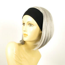 headband wig short gray ref: DOROTHEE 51