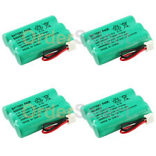 4x Home Phone Battery 350mAh NiCd for V-Tech ER-P510 89-1323-00-00 Model 27910