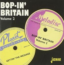 BOP IN BRITAIN VOL.2 - JOE HARRIOTT QUARTETT, VIC ASH ALLSTARS CD NEU