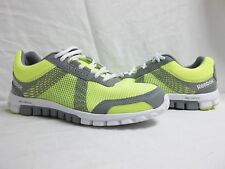 Reebok Sz 8 M RealFlex Tempo Run 2.0 Grey Running Sneakers New Womens Shoes NWOB