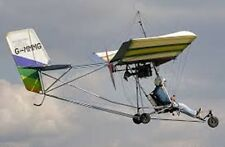 Eipper Quicksilver Hang Gliding Ultralight Aircraft Wood Model Replica Big