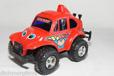 PLASTIC MACAU VW VOLKSWAGEN BEETLE KAFER DEVIL BUGGY RED EXCELLENT CONDITION