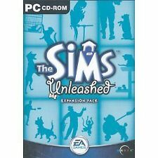 Sims: Unleashed Expansion Pack [Large Box] (PC, 2002), VG