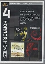 4 MGM HORROR MOVIES Edge Of Sanity Equus Spiral Staircase Aunt Alice NEW DVD