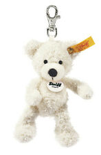 STEIFF Lotte Teddy Bear Keyring Handbag charm White 12cm EAN 111785  NEW