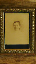 19c ORIGINAL PHOTO OF ANNIE HAYES,DAUGHTER-IN-LAW TO LINCOLN'S LAW PARTNER