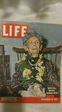 Life Magazine September 19th 1960 Happy 100th Birthday Published By Time   mg684