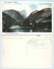 Panorama view of Little Saguenay Quebec River Canada Postcard