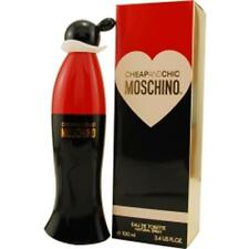 CHEAP AND CHIC Moschino 3.4 OZ EDT for WOMEN PERFUME * NEW IN BOX * SEALED