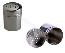 STAINLESS STEEL SHAKER SPRINKLER ATTA FLOUR SUGAR COCCO CHOCOLATE DREDGER 9043