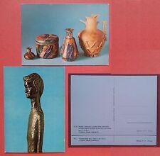 Volterra - Museo Guarnacci: Lotto di 2 cartoline
