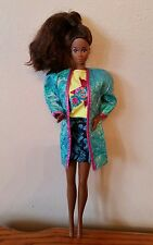 Barbie and the Rockers Dee Dee black doll redressed 1st issue
