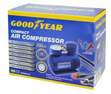 GOODYEAR Car Tyre Air Compressor Pump Bike Cycle Compact 3m Cord 12V Inflator