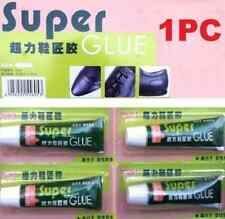 1PCS Super Adhesive Glue Shoe Repair Tube Leather Rubber Strong Bond Fast HS