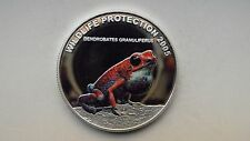 2005 Liberia $10 Poison Frogs Silver Proof coin (1)