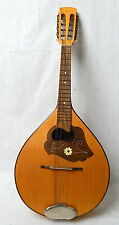 Vintage German 8 String Bowl Back Mandolin Migma Musima Dofra