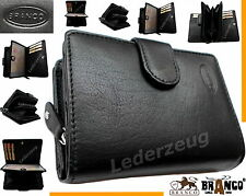 Branco Geldbörse Portemonnaie Leder Börse Geldbeutel Brieftasche Damenbörse  NEU