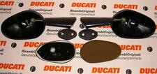 2006 Ducati Paul Smart Replica fairing mount PAIR mirrors 52310061AE, to paint