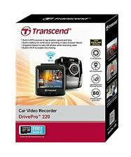 Transcend DrivePro 220 16GB Car Video Recorder, Dashboard Camera Built in Wifi