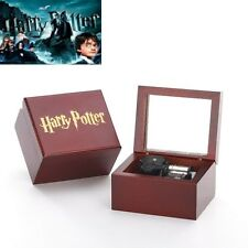 Harry Potter Handcraft Mirror Music Box: Harry Potter Hedwigs Theme