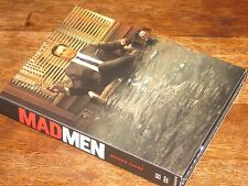MADMEN MAD MEN SEASON THREE DVD BOX SET (4) VERY GOOD COMPLETE SEASON 3