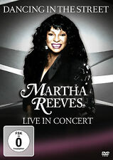 DVD CD Martha Reeves Live In Concert   CD und DVD Set
