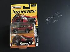 Matchbox Land Rover Discovery Red Superfast #51 Range